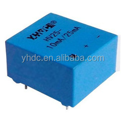 HV25 Single Phase and Current Usage current transducer 10mA/25mA replace Lem current transducer LV25-P