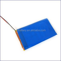 Lithium polymer battery 3.7v with 4000mah