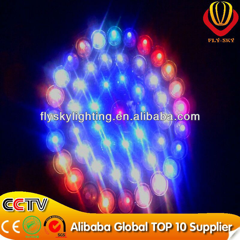 alibaba express inflatable ground balloon with LED light