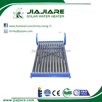 Top Sale Low Pressurized Evacuated Tube Solar Water Heater 100L 200L 300L 400L