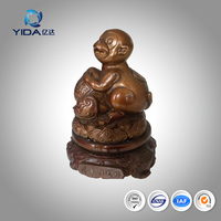 2016 Chinese brass monkey statue copper handicrafts