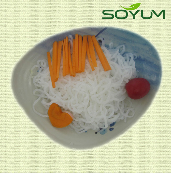 Price wholesale slim spaghetti type organic pure konjac pasta