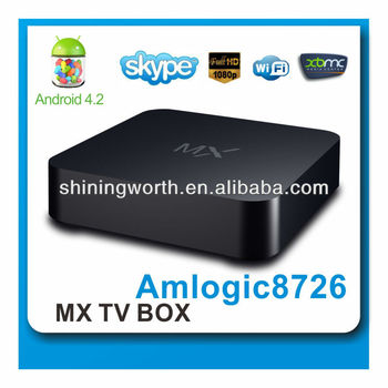 Android TV BOX 1G 8G 8726 Dual Core tv box