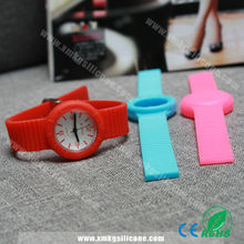 High Quality Colorful Silicone Rubber Watch Strap