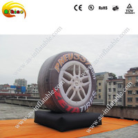 4.5m attractive outdoor giant advertising model inflatable tyre