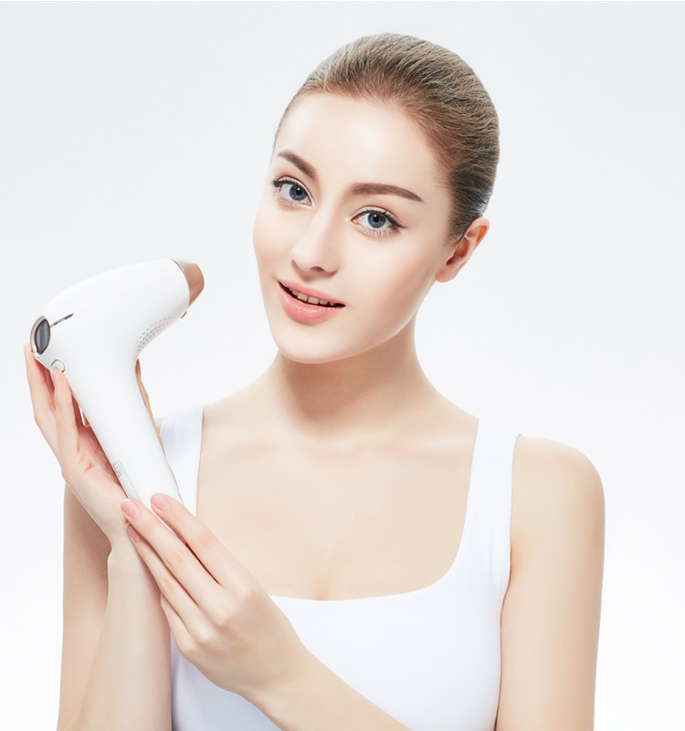 2017 CosBeauty newest rechargebale home use 300000 flashes laser device for body face bikini line IPL hair removal machine