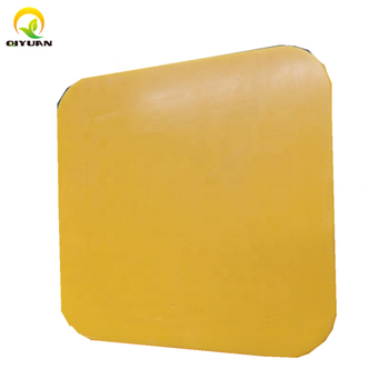 High quality wear-resistant anti-slip UHMWPE lifting leg road pad
