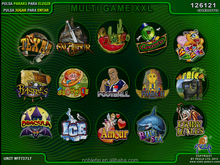 MultIgame 15IN1 with Jackpot,SAS game,GOOD QUALITY.GOOD WIN 40-96%