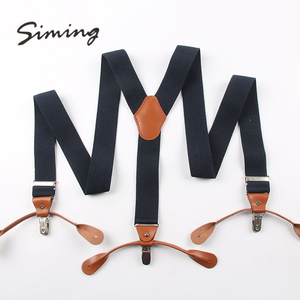 Good quality wholesale personalized custom mens suspenders for kids