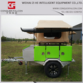 camping trailer 4x4 Roof top tent camper trailers
