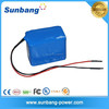 rechargeable 3S lithium 12v 80ah battery with samsung 18650 battery cell