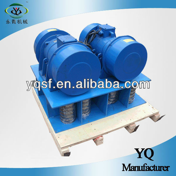 100KN concrete vibration machinery external vibrator motor from Yongqing Machine
