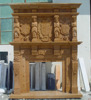 china marble indoor used marble fireplace surround stone surround