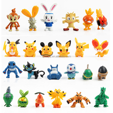2017 pokemon girafarig mini action figure plastic toy custom pvc vinyl toy cartoon figure custom design pvc mini toy figure