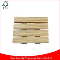 Yuguang Crafts Wholesale Custom Hotel Wholesale Wooden Soap Holder