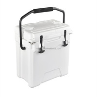 Commercial Fishing Plastic Rotomolded Reusable Ice Cooler Box with pull rod