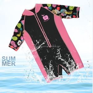 Summer Pool Swimming Neoprene Wetsuit for Girl
