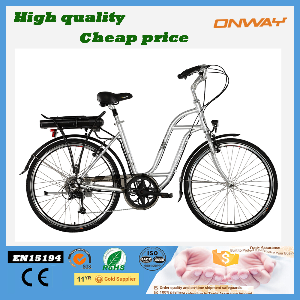hidden battery powerful road electric bicycle with LED modle display