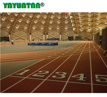 Full PU Stadium Synthetic Rubber Running Race Track