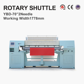 YBD70-2Computerized rotary shuttle multi-needle quilting machine