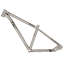 fashion style light-paint high-end titanium mtb bike frame 29 from bicycle frame manufacturer