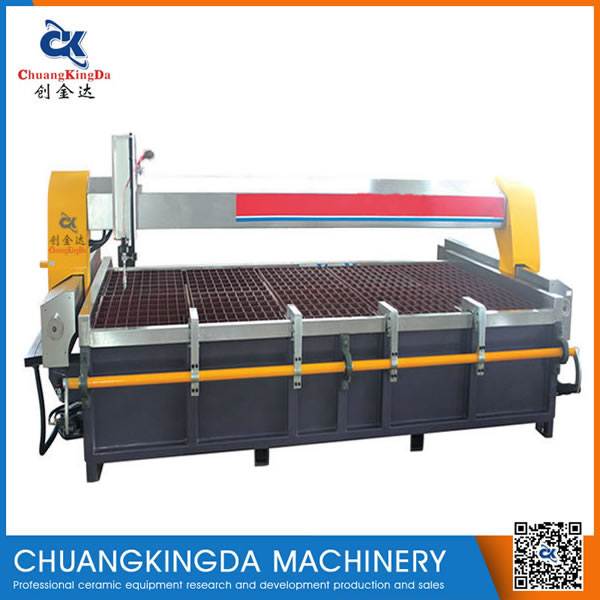 CKD2015 Cantilever Type CNC Water Jet popular for cut marble stone marble rubber etc,,,