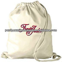 Eco-friendly Cotton Drawstring Promotional Pouch