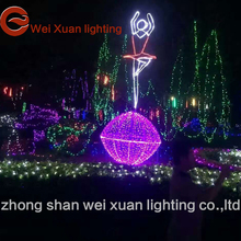 Decorate the Christmas lights, the characters romantic theme modelling lamp decorations the festival decoration lamp