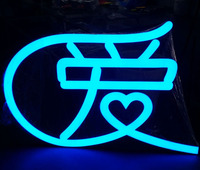 2016 Waterproof Face Light Acrylic Night Club Sign Letters & mini Led Lighted Letters