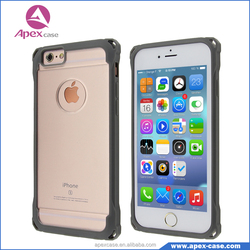 Trendy Slim Sase for Crystal Clear Case iphone 6