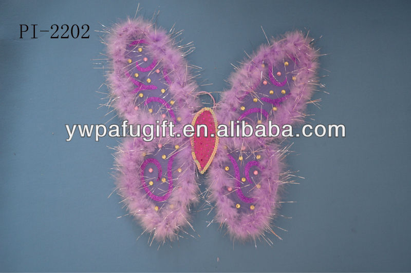 Flashing Butterfly wings for party decoration