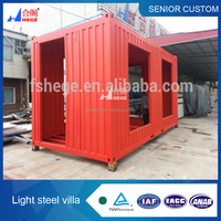 Prefabricated italy container house
