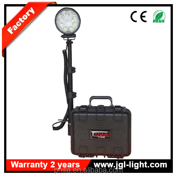 digital led portable work light battery powered led work lights explosion proof lighting