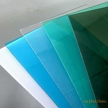 color 1250 * 2470 mm different thickness PETG sheets boards for Composites for display Screen