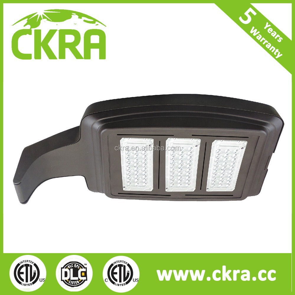 Factory price UL cUL RoHS DLC Approved ip65 100w LED shoe box retrofit kit outdoor street lighting /LED Parking lot light