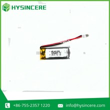 3.7V 100mah Polymer lithium battery 401230 for Electronics batteries, battery wireless devices, Bluetooth devices battery