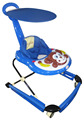 2016 High quality walker for baby with steel bottom tray Hot sale new baby walker with music and light 2016 unique baby walker
