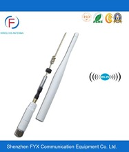 Free sample High gain omni 2.4G white color Wifi Antenna holder with RP-SMA connector for signal booster