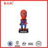 Polyresin personal Spiderman bobblehead