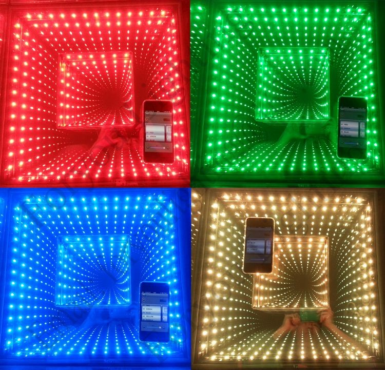 3-Year Warranty Factory Sale DMX/WIFI/Wireless Remote/PC/SD Wedding Stage DJ Used 3D Outdoor LED Dance Floor Light