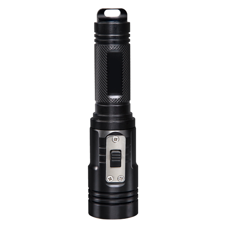 Supfire 10W 1000 lumens powerful rechargeable waterproof torch D3 with CE,FCC and Rohs