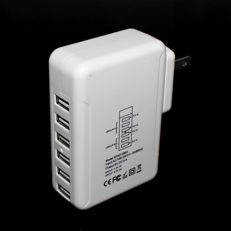2016 hot selling 5V6A travel charger for motorola