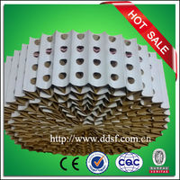 Pleated dry paint booth paper filter, dry paint filter