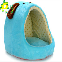 High Quality Blue Plush Nest Pet Toys For Dogs Sleeping