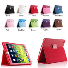 Wholesale Luxury Magnetic Smart Flip Cover Stand Wallet PU Leather Case For ipad Model