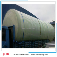 High quality fiberglass reinforced plastic tank / frp oil transportation tank