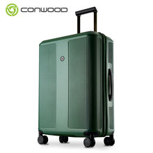 Fashion design Aluminium Trolley Travel PC wheeled Luggage cases