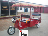 High Quality India Battery Power Rickshaw/passenger battery tricycle