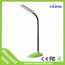 novel reading table lamp with clip