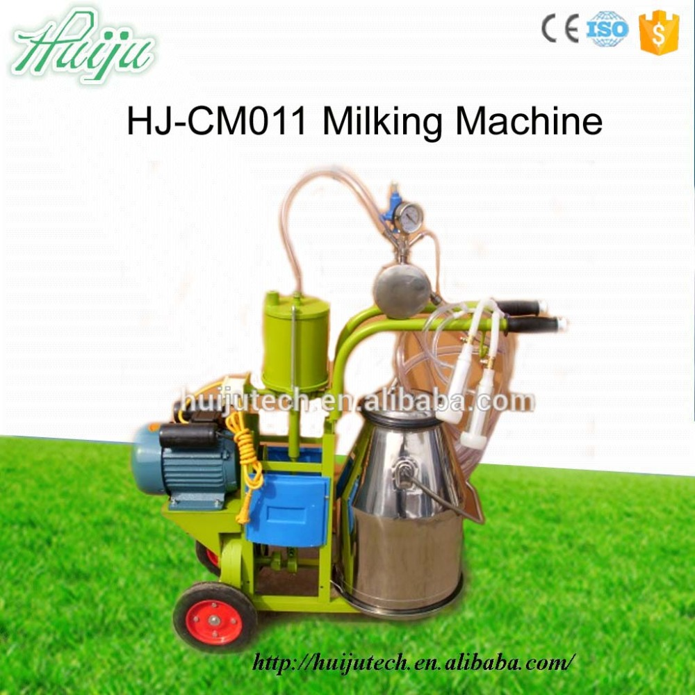 Hot sale 220V manual milking machine for sale HJ-CM011 CE Proved automatic milking machine Stainless Steel
